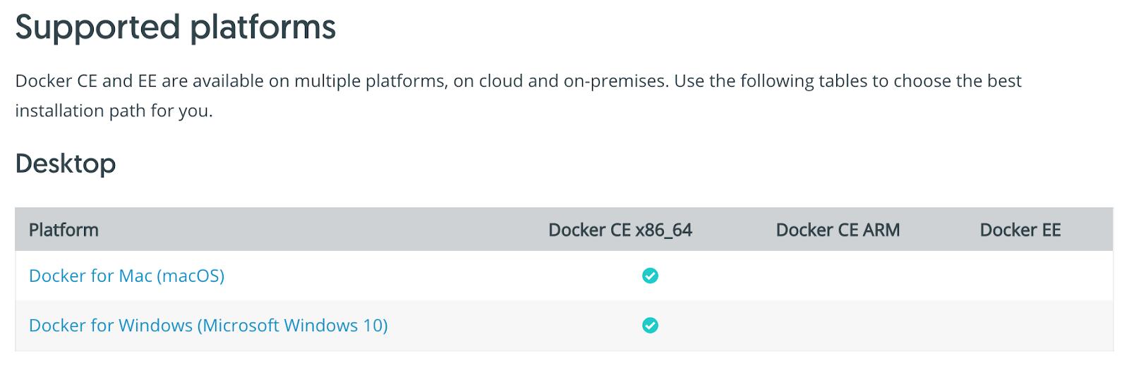 docker download for windows 10